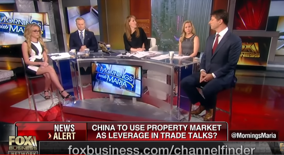 Edward Mermelstein on China using its property markets to defend against Trump's tariffs